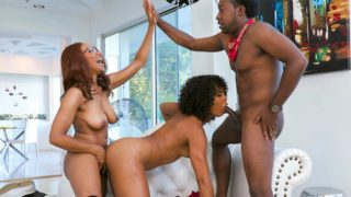 FilthyFamily – Lets Keep it in The Family – Misty Stone – Jenna Foxx