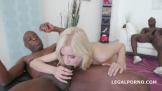 LegalPorno – Black Busters 5on1 Bree Haze interracial – Bree Haze