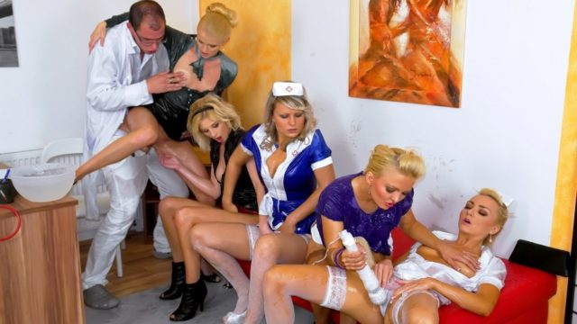 PornstarsAtHome – Pussy Check-up With Doctor Dick Part 1 – Kate – Jenna Lovely – Samantha Jolie – Victoria Puppy
