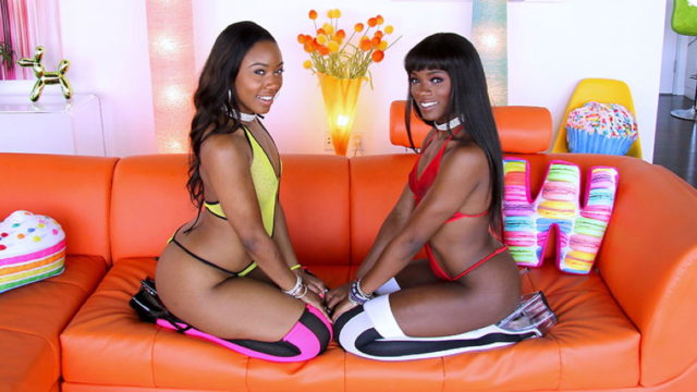 Swallowed – Chanell And Ana Are Letting The Drool Flow – Ana Foxxx – Chanell Heart