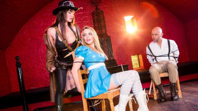 DigitalPlayground – League of Frankenstein Episode 2 – Van Helsing – Franceska Jaimes – Mia Malkova