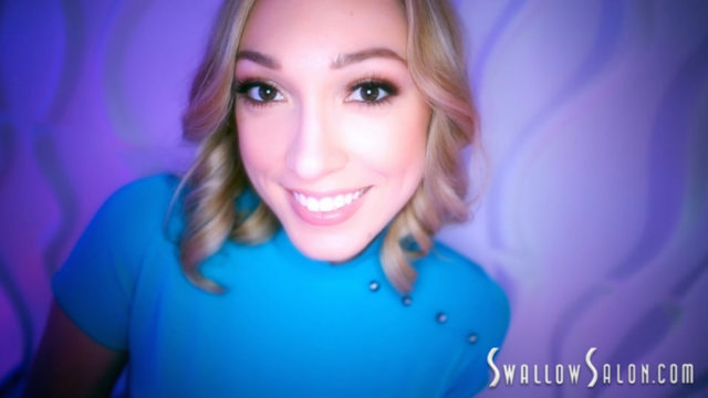 SwallowSalon – Blowjob Swallow – Lily LaBeau