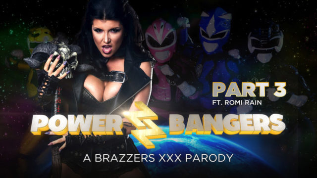 ZZSeries – Power Bangers A XXX Parody Part 3 – Romi Rain