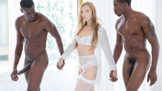 Blacked – Trophy Wife does two BBCs for her husband – Layna Landry