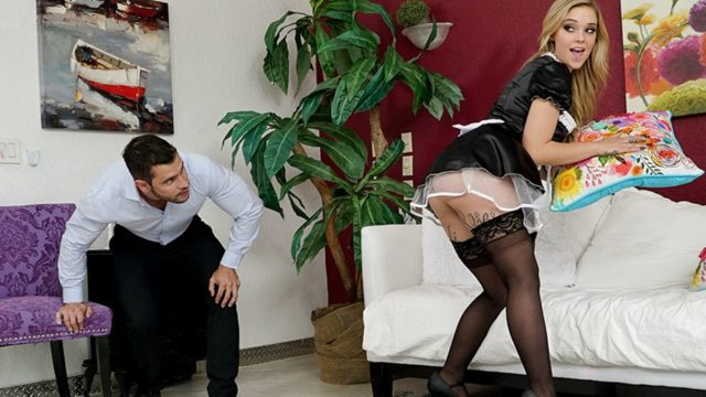 BrazzersExxtra – Cleaning His Cock – Kali Roses
