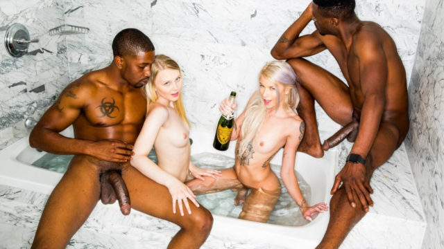 BlackedRaw – New Friends – Lily Rader – Arya Fae